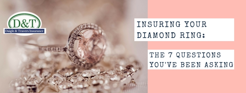 Diamond ring insurance and all valuable articles insurance should be carefully choosen so that you are insuring what should be and not insuring what shouldn't be.