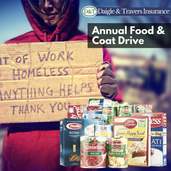 Thanksgiving Food & Coat Drive Darien & Wilton CT