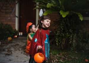 Halloween safety; Westport CT; 06880; trick or treat; pumpkin; Daigle & Travers