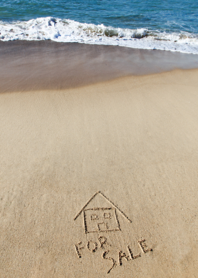 House for sale etched in the sandy ocean front in Westport Connecticut. Let us offer your tips before you buy your new waterfront home.