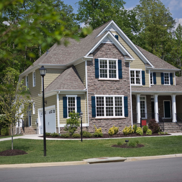 Large home in Fairfield is insured by Daigle & Travers Insurance who made sure that the homeowner is not underinsured.